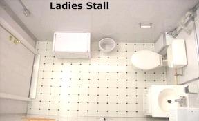 Ladies Lavatory Stall
