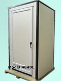 "1/2"" Graffiti Resistant Walls, Keyed door lock, Privacy Lock, Larger Stall,, Electricity"