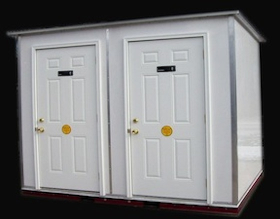 Two Stall Buildings Trailer Mounted