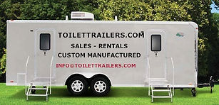Self Contained Toilet Trailer, Shower, Decontamination, Safety Shelter