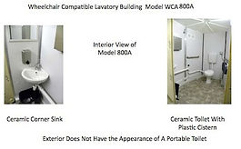 model, 800A, interior, wheelchair, compatible, lavatory, building, view, ceramic, corner, sink, toilet, plastic, cistern, not, look, like