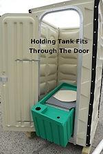 65 Gallon (270 Liters), Holding Tank, Folding Toilet