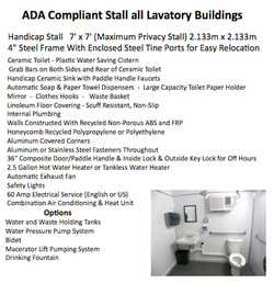 Mobile ADA Compliant Stall