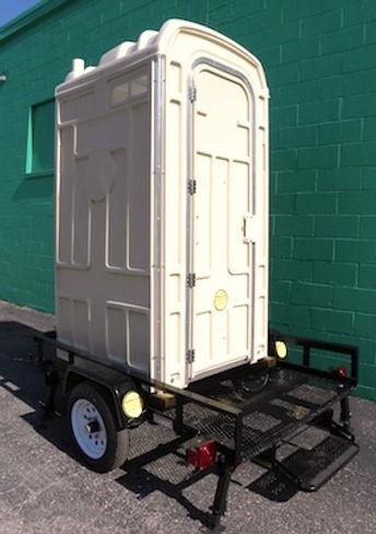 Toilet Sales, DOT Compliant Trailer, Mobility