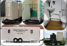 Comfortable, Attractive, Fresh Water, Ceramic Flush Toilet, Ceramic Sink, Trailer, Wheels, Shower, Foot Pump, Automatic, Heat, Air Conditioning, Linoleum , Urinal
