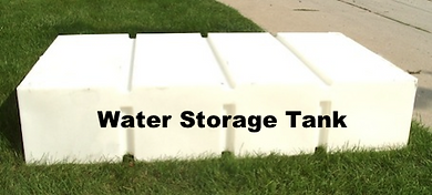 water, storage, tank, gallon, white, plastic