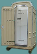 Shower Stall, Portable, Tankless Water Heater