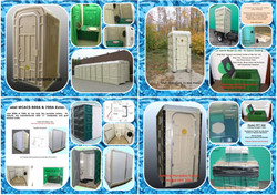 Trailer Mountable Portable Toilets