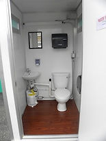 model 484EHD, interior, view, lavatory, building, one inch, aluminum, extrude, corners, heavy duty, vinyl, wood, floor, cover, fresh water, hand, wash, flush