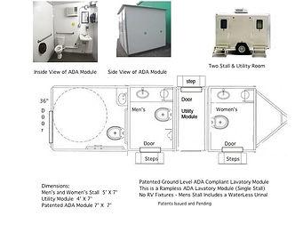 handicap, stall, lavatory, toilet, ADA compliant, no RV parts