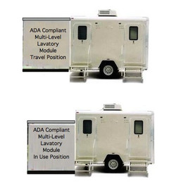 Multi-Level ADA Compliant Lavatory