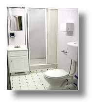shower, toilet, hot water, changing station, Luxury