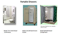 Shower, Toilet, Hot Water, Portable, Change Room