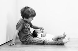Kinderfotografie München zuhause
