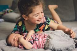 Familienfoto Mädchen Baby