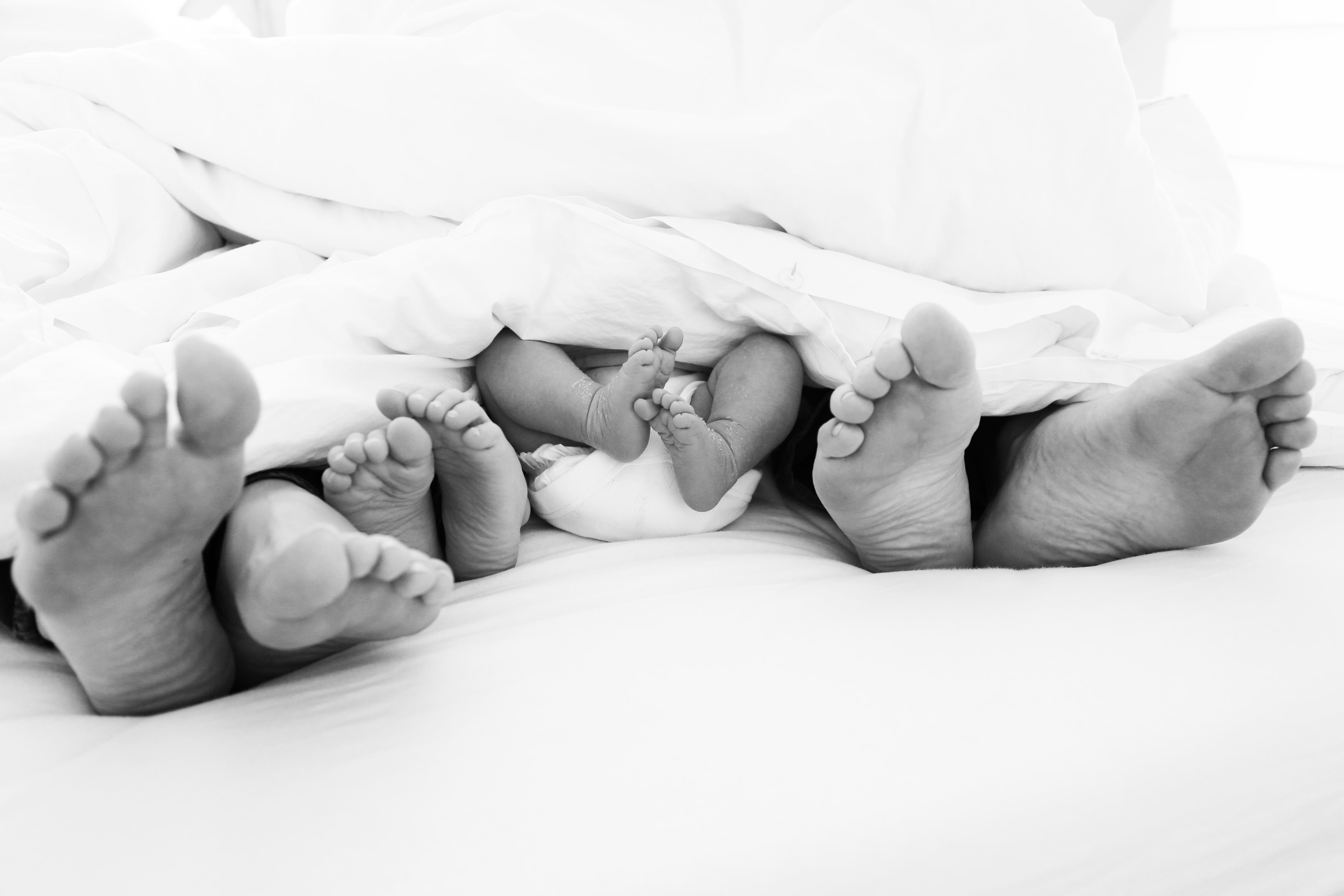 Familiefoto Baby Füße