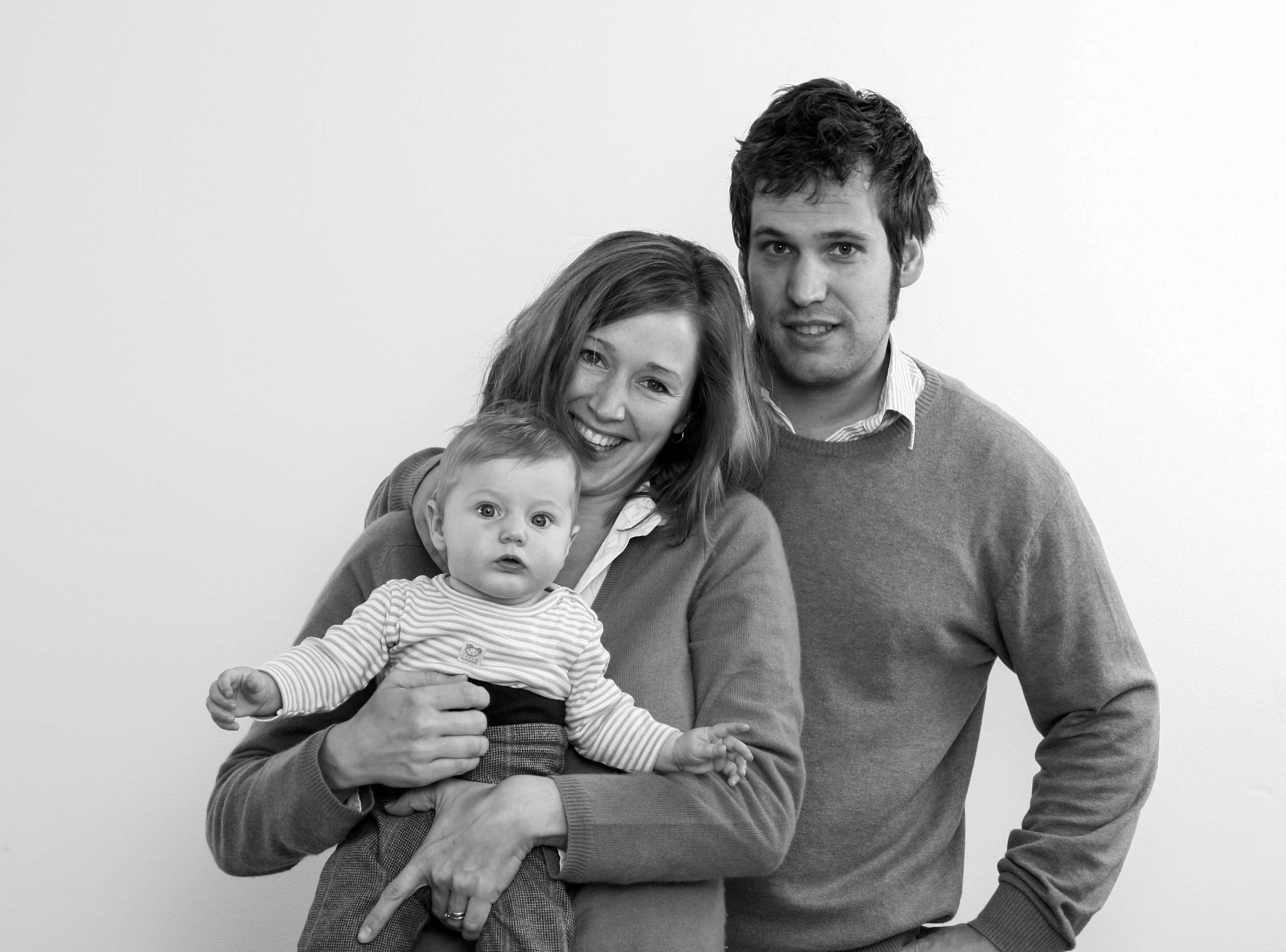 Familienfotos kleine Familie