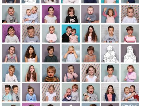 Danke für 54 tolle Kindergesichter !