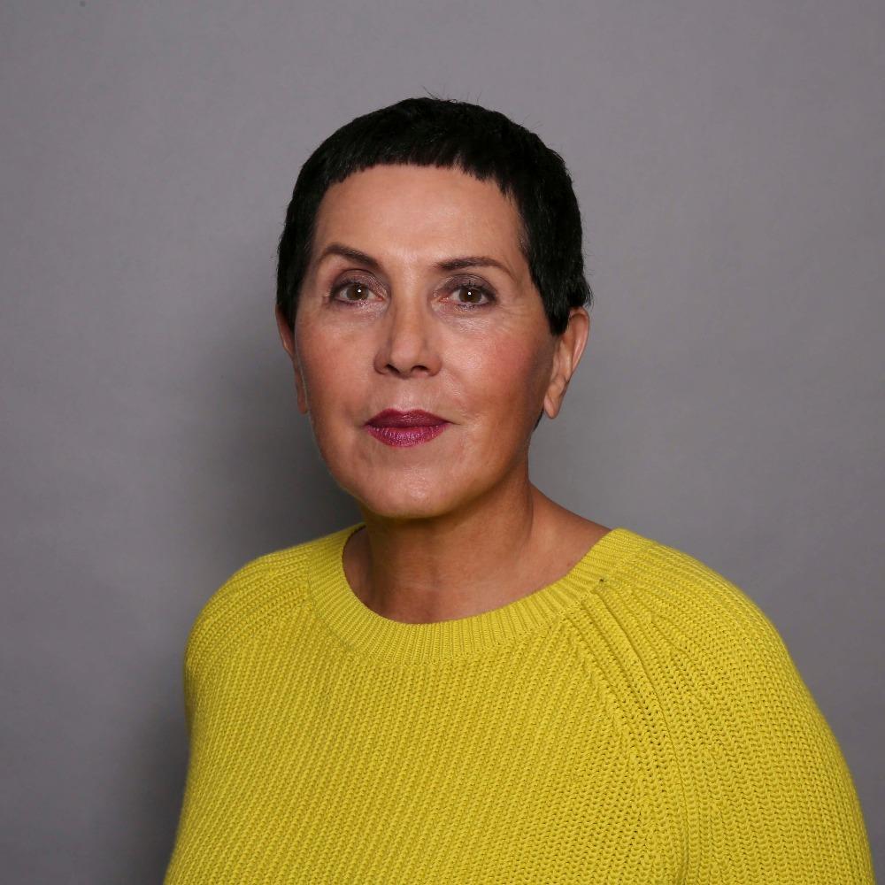 Businessportrait Hintergrund Frau