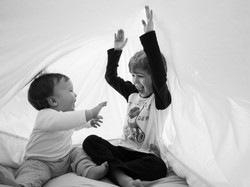 Lustige Kinderbilder lachen