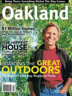 2003 Oakland Magazine Cover
