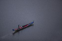 1200 Lakeshore 0096 - Gondola at Twilight 2015 11x17