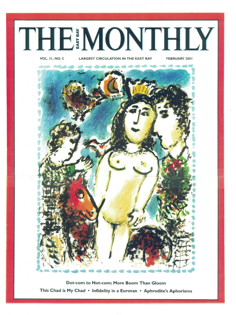 2001 The Monthly Cover