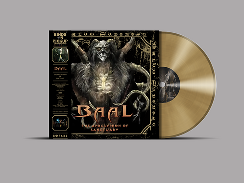 BAAL - THE APOCRYPHON OF SANCTUARY GOLD LP BOPSB3