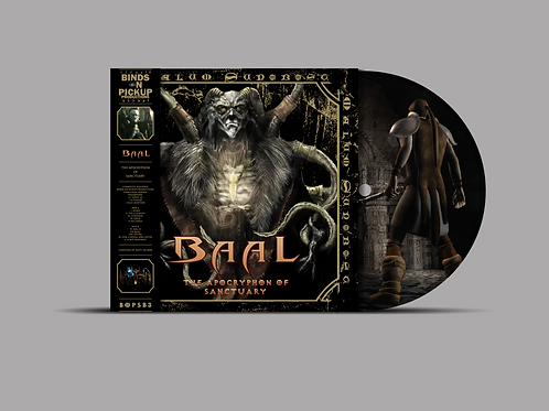 BAAL - THE APOCRYPHON OF SANCTUARY PICTURE LP BOPSB3
