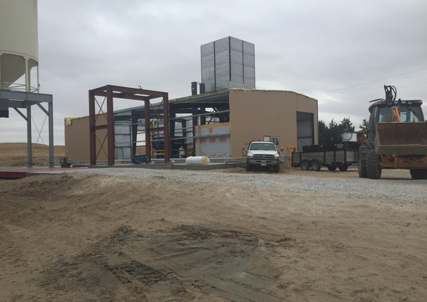 Ainsworth Feed Mill Construction