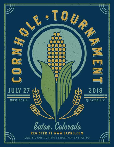Cornhole Tournament Poster