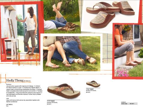 Production for ACORN slipper Catalog