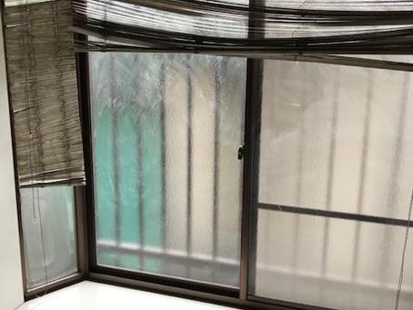浴室の窓ガラス交換