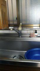 清水区 TOTO  水栓金具交換 クリナップ