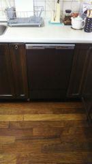 食洗機取替 清水区 クリナップ シート貼り