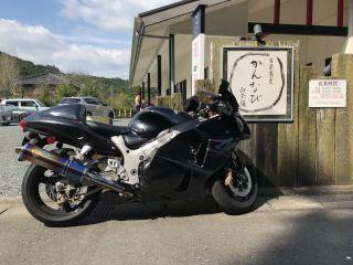 ツーリング バイク かんなび 蕎麦 森町 小國神社