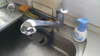 水栓金具 水漏れ 修理