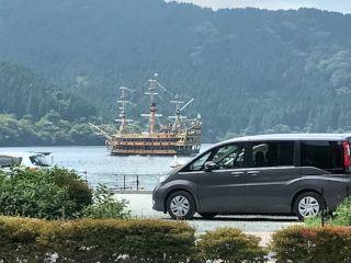 箱根 海賊船 海 山 ツーリング