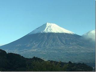 富士山の雪化粧(^^)/