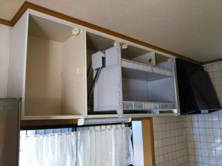 クリナップ 吊戸棚取付 清水区