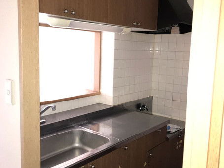 2階キッチン取替工事