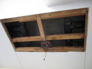 天井解体 清水区