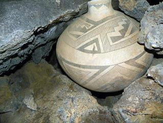 Discovery of Ancient Indian Pot