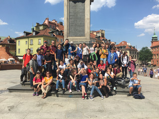 Day 1 and 2 TMMS Trip to Poland