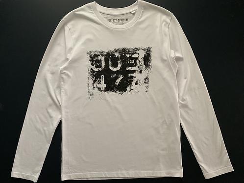 JUE 477 Patina Reg'— White Long sleeve T-shirt
