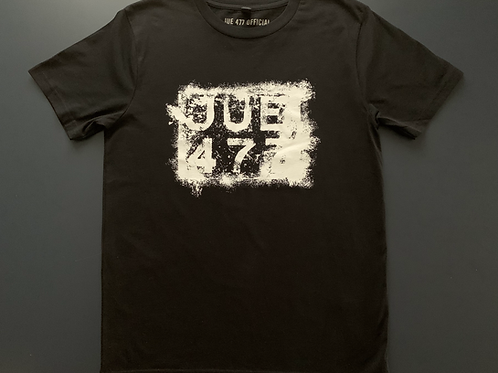 JUE 477 Patina Reg'—Black T-shirt