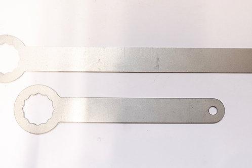 Engine mount lock tabs LHD - 1x 240111 & 1x 240112