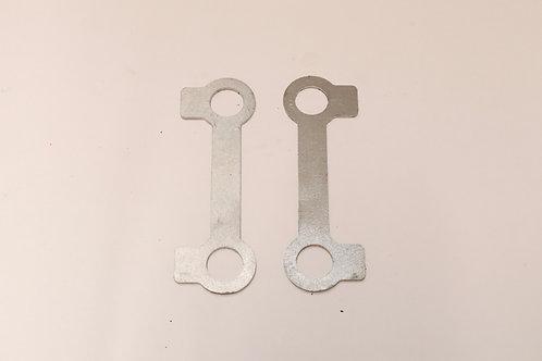 U bolt lock tabs - 2x 217261