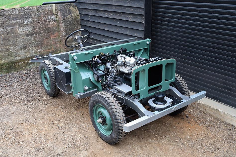 1948 Land Rover Restoration