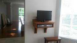Television shelf